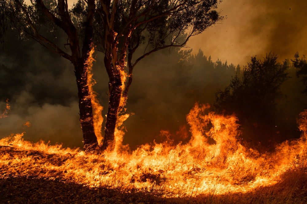 Fires Threaten Australian Towns That Have Already Burned