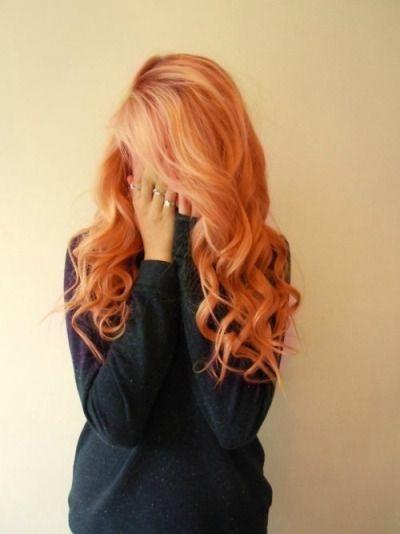 Strawberry Blonde Tumblr Hair Beauty Hair Photo