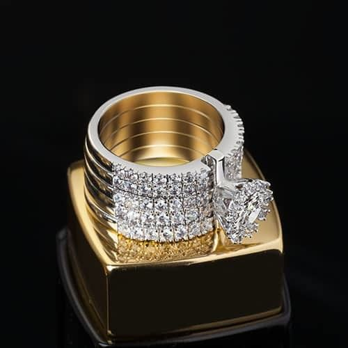 Very Fine Princess Promise Rings for Girlfriend Price $210