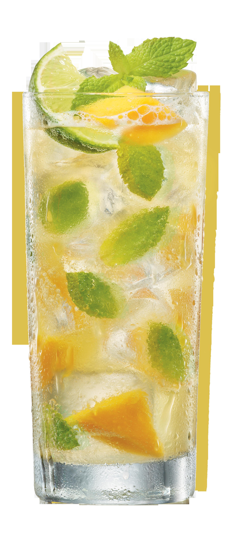 How To Make A Mojito Cocktail With Bacardi White Rum Recipe Mango Mojito Flavored Rum Mango Mojito Recipe