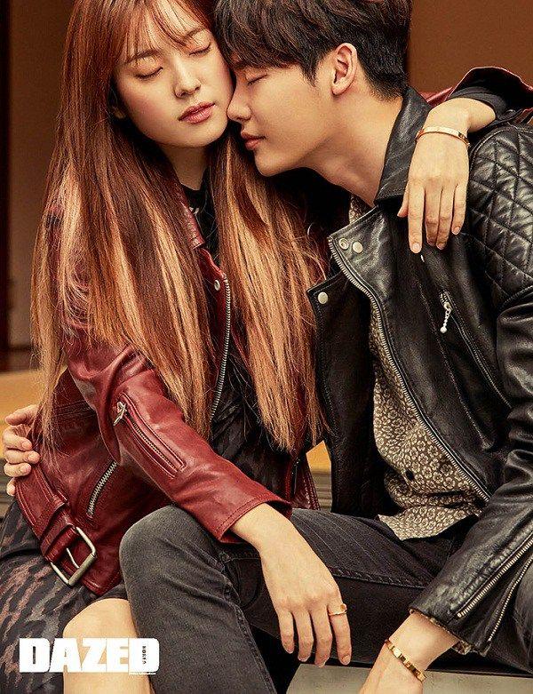 Han Hyo Joo And Lee Jong Suk For Dazed And Confused Korea Nov 2016 Lee Jong Suk Han Hyo Joo Lee Jong Suk Lee Jong