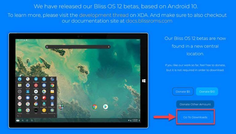 Bliss Os 12 Lets You Run Android 10 On Windows 10 Pc Windows 10 Free Apps Windows 10 Free Apps In 2020 Android Android Emulator Windows 10