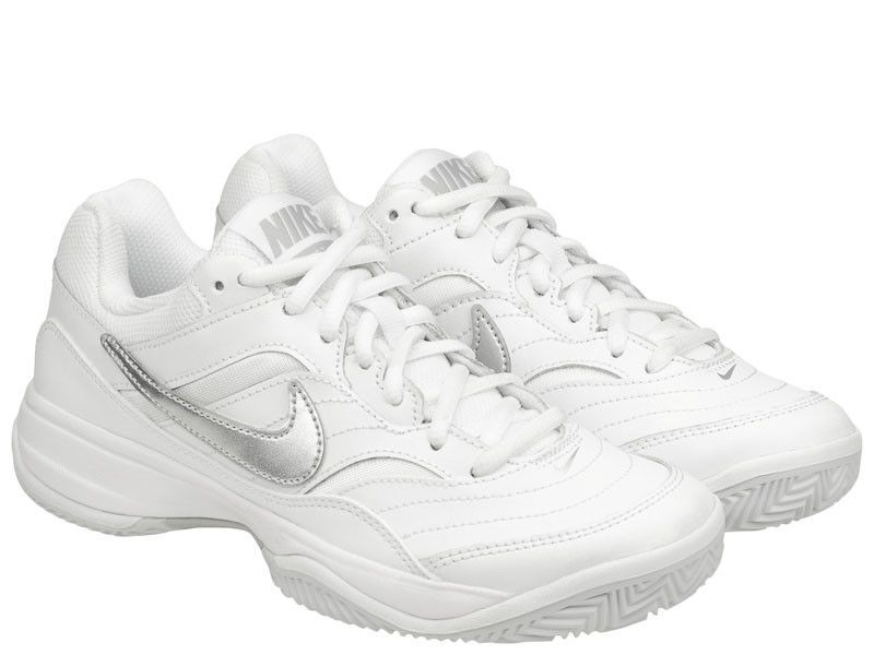 Nike Women s Court Lite Tennis Shoes Clay White Racket Racquet NWT  845049-100  Nike 624260e7f31