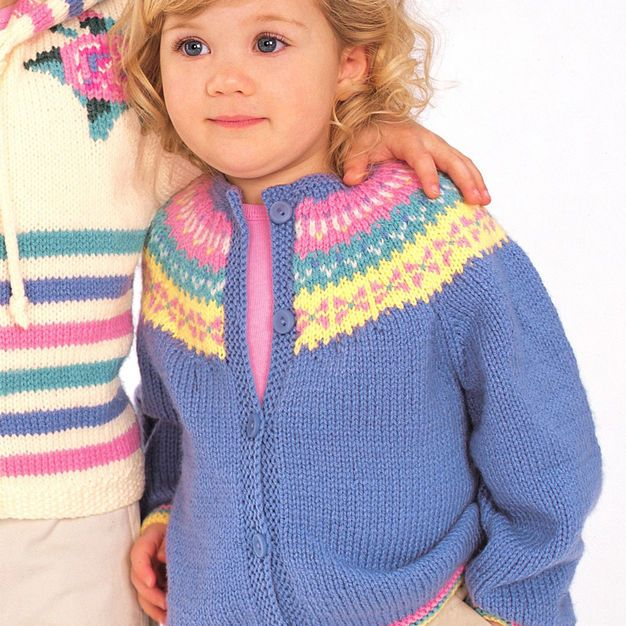Patons Fair Isle Classic, 4 yrs | Knitting for beginners ...