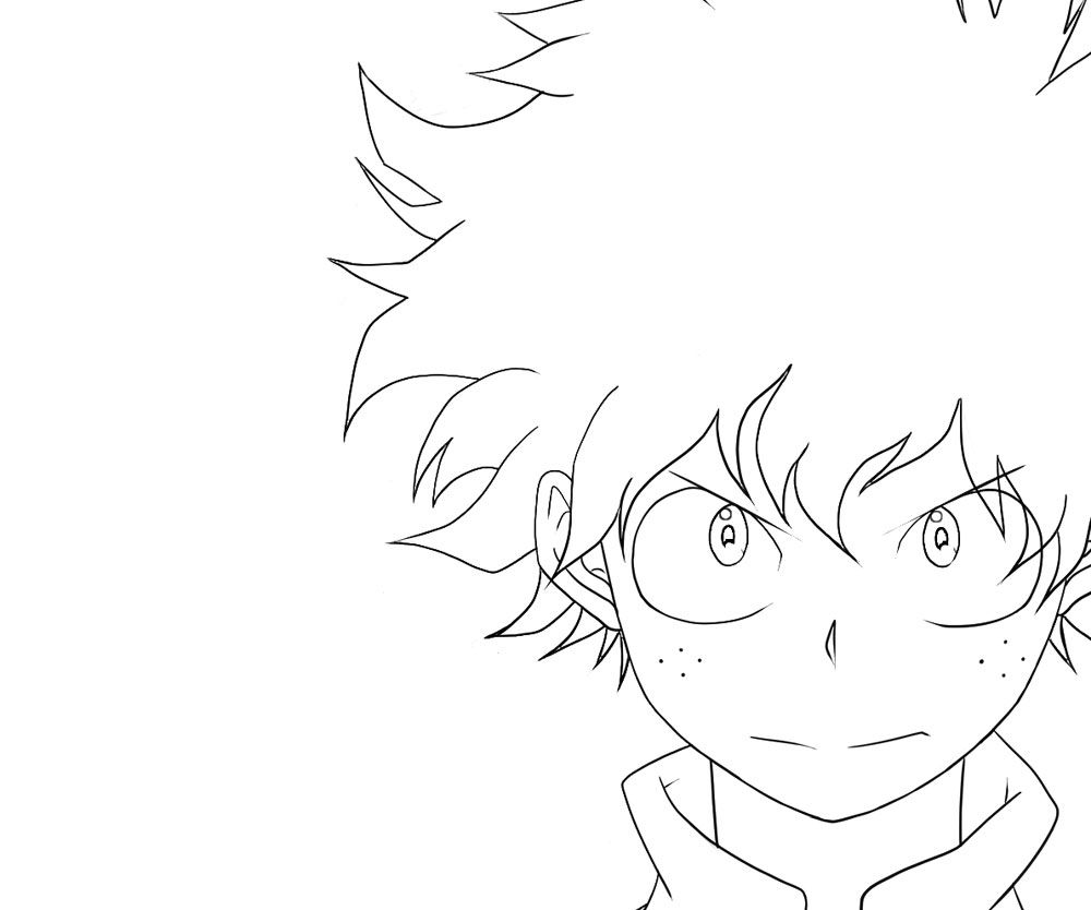 10 Top My Hero Academia Printable Coloring Pages Anime Character Drawing Manga Coloring Book Mermaid Coloring Pages
