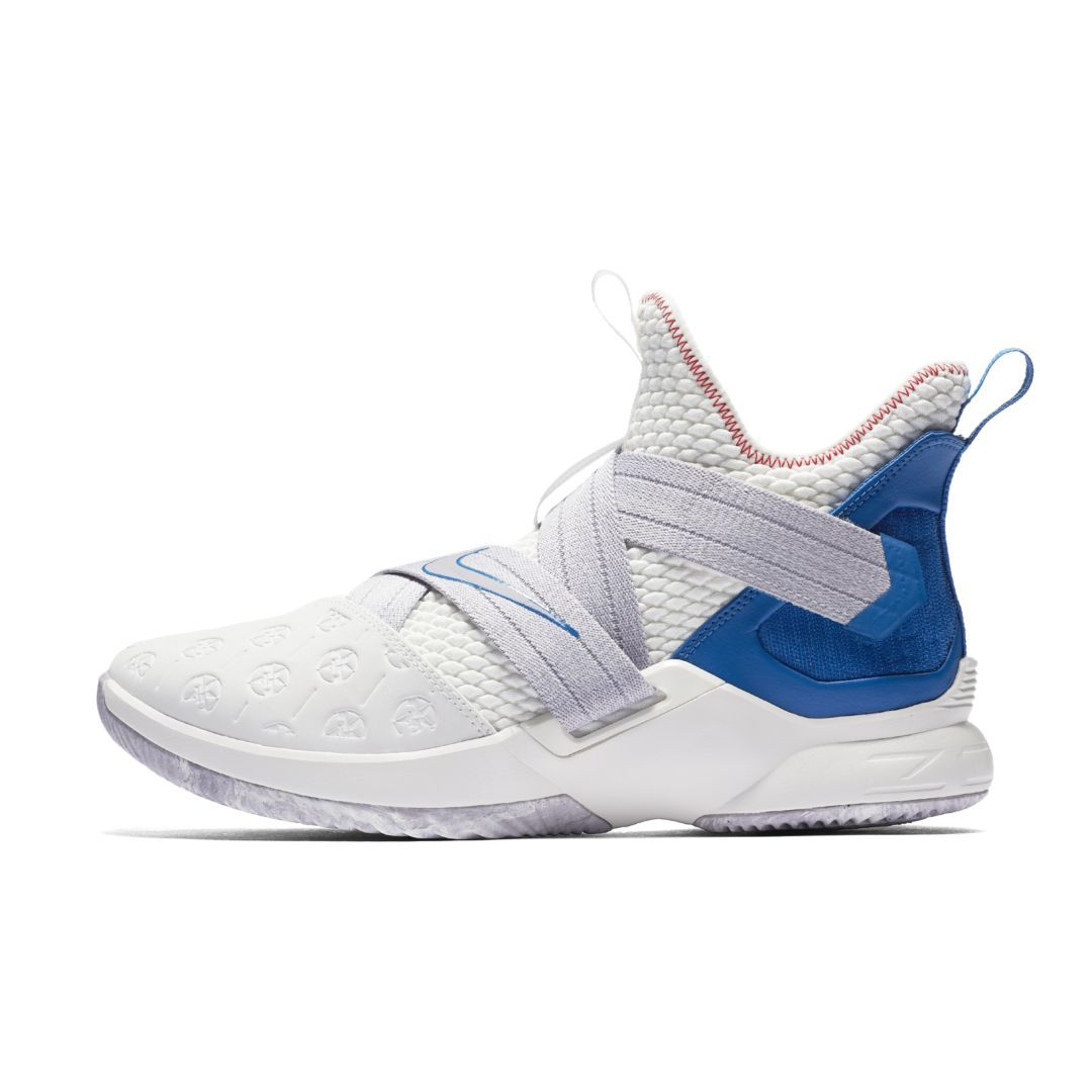 7277e11ff9e LeBron Soldier 12 Basketball Shoe Size 11.5 (Summit White ...