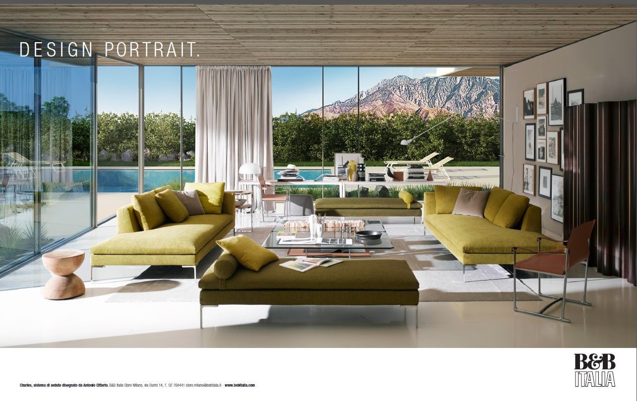 NEW ADVERTISING CAMPAIGN B&B ITALIA | Great Modern Furniture | Pinterest