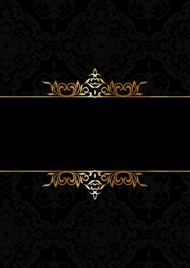 Download Decorative Elegant Background In Black And Gold For Free Gold And Black Background Black Background Wallpaper Black And Gold Aesthetic