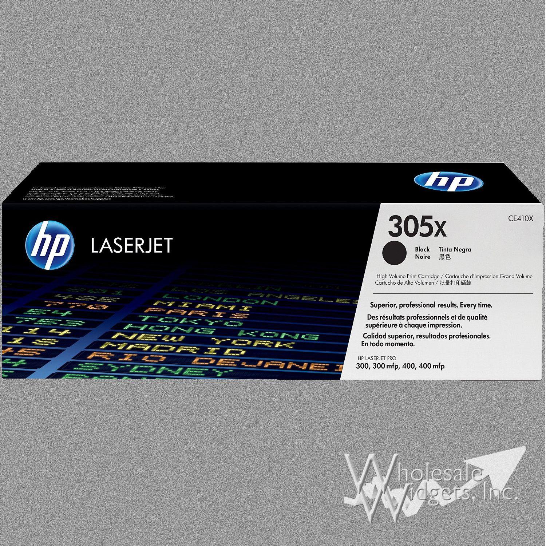 Hp 305x Black Toner For Use In Laserjet Pro 300 Color Mfp M375nw M451dn M451dw M451nw Mfp M475dn Mfp M475dw Ce410x 305x Toner Black Widget