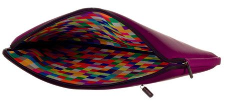 "15.4"" Laptop Sleeve  Neoprene  Purple with mosaic"