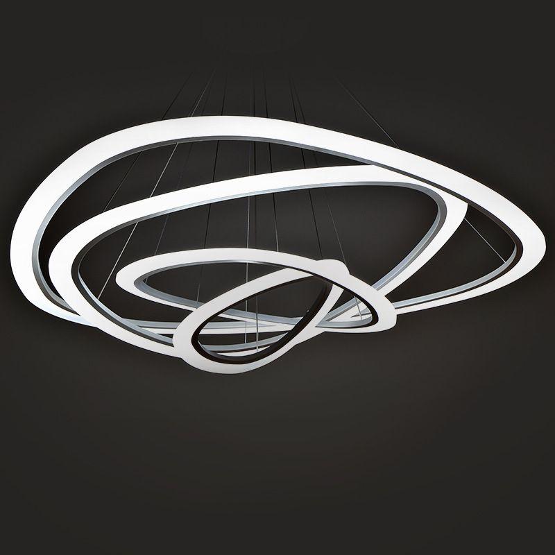 Moderne led pendentif lumi res pour salon salle manger - Plafonnier salle a manger ...