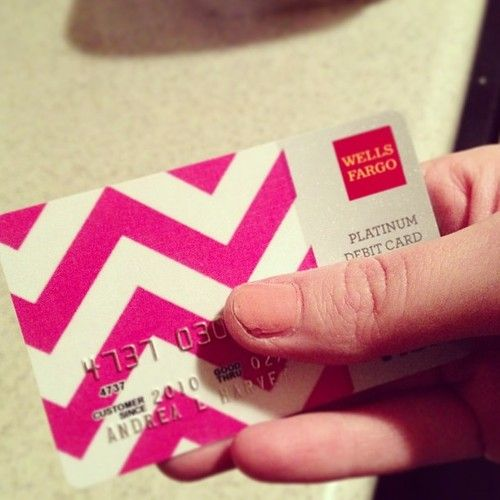 How to design your own debit card through Wells Fargo step-by-step ...