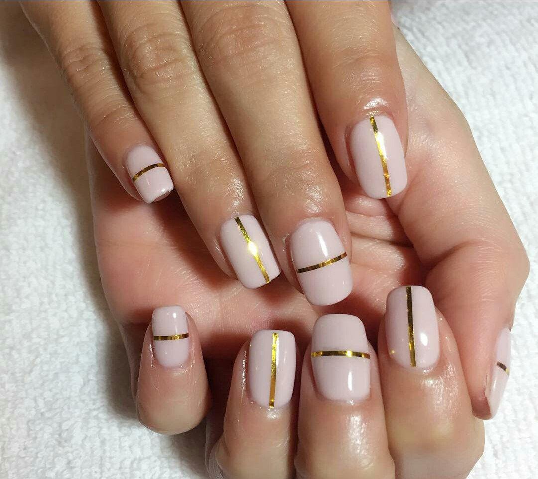 Nail Polish Strips How To Use Nail Striping Tape With Gel Polish Ladylife Nail Striping Tape Tape Nail Art Nail Polish Strips