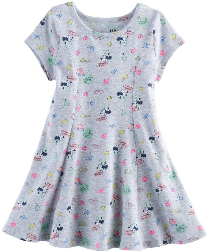 Girls Light Pink Heart Print Sleeveless Skater Dress Ages 3-4, 5-6, 7-8 Years