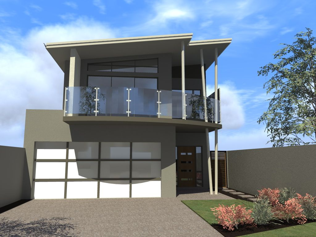 House Design Long Narrow Block House Balcony Design Narrow Lot House Plans Narrow Lot House