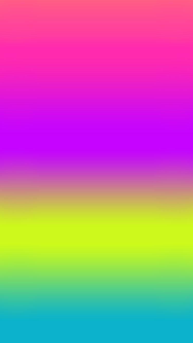 Bright gradient Cellphone wallpaper, Rainbow wallpaper