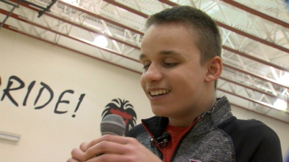 The surprise factor.Good or bad, for some reason, it's in a teenager's DNA.Heritage high school freshman Brendan Friedrich is catching the eye of sports fans for all the right reasons.Everybody who doesn't know who I am, is about to, Brendan explained.The