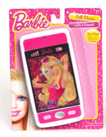 Barbie fab phone just play toys for kids of all ages - Telephone barbie ...