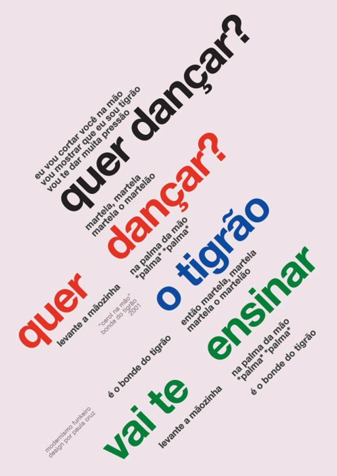 Arte Funk Cartazes Geniais Musicas Funk Frases