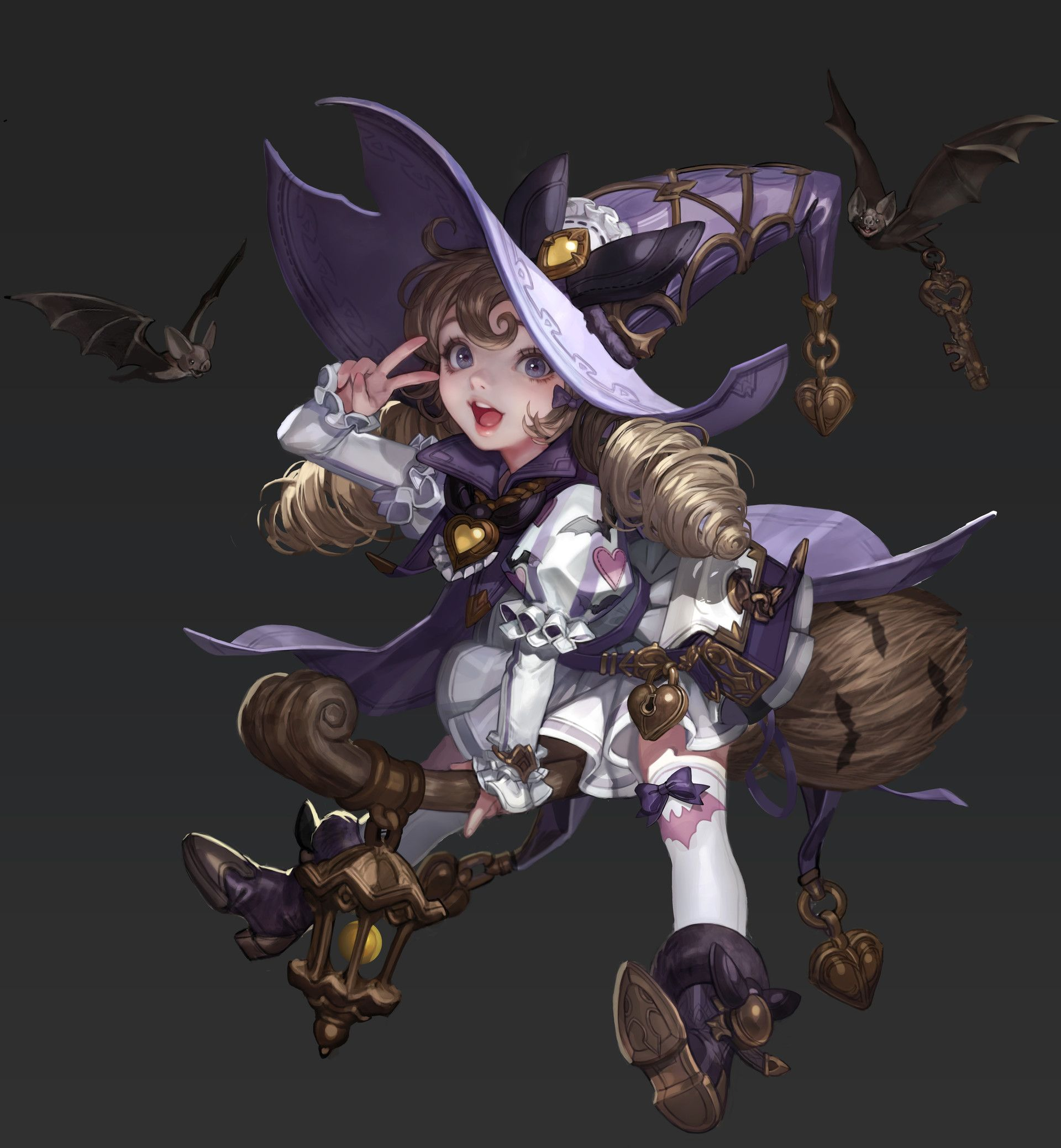 ArtStation - Little Witch, Monable .
