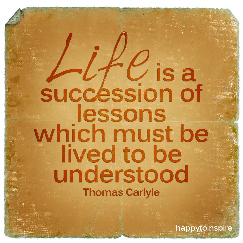 Famous Quotes About Life Lessons It Is A Nice Example Of Passive Voice With Modalhere Meaning Of