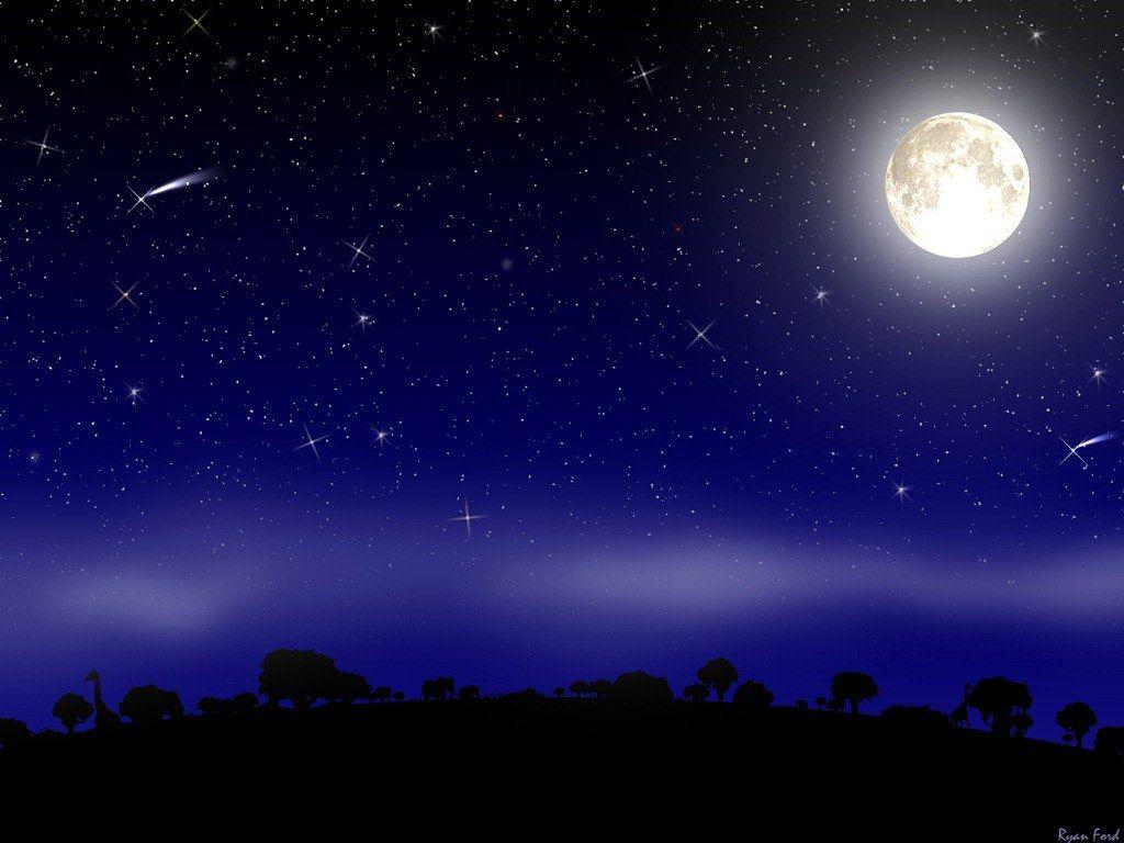 16 Pemandangan Indah Langit Di Malam Hari Di 2020