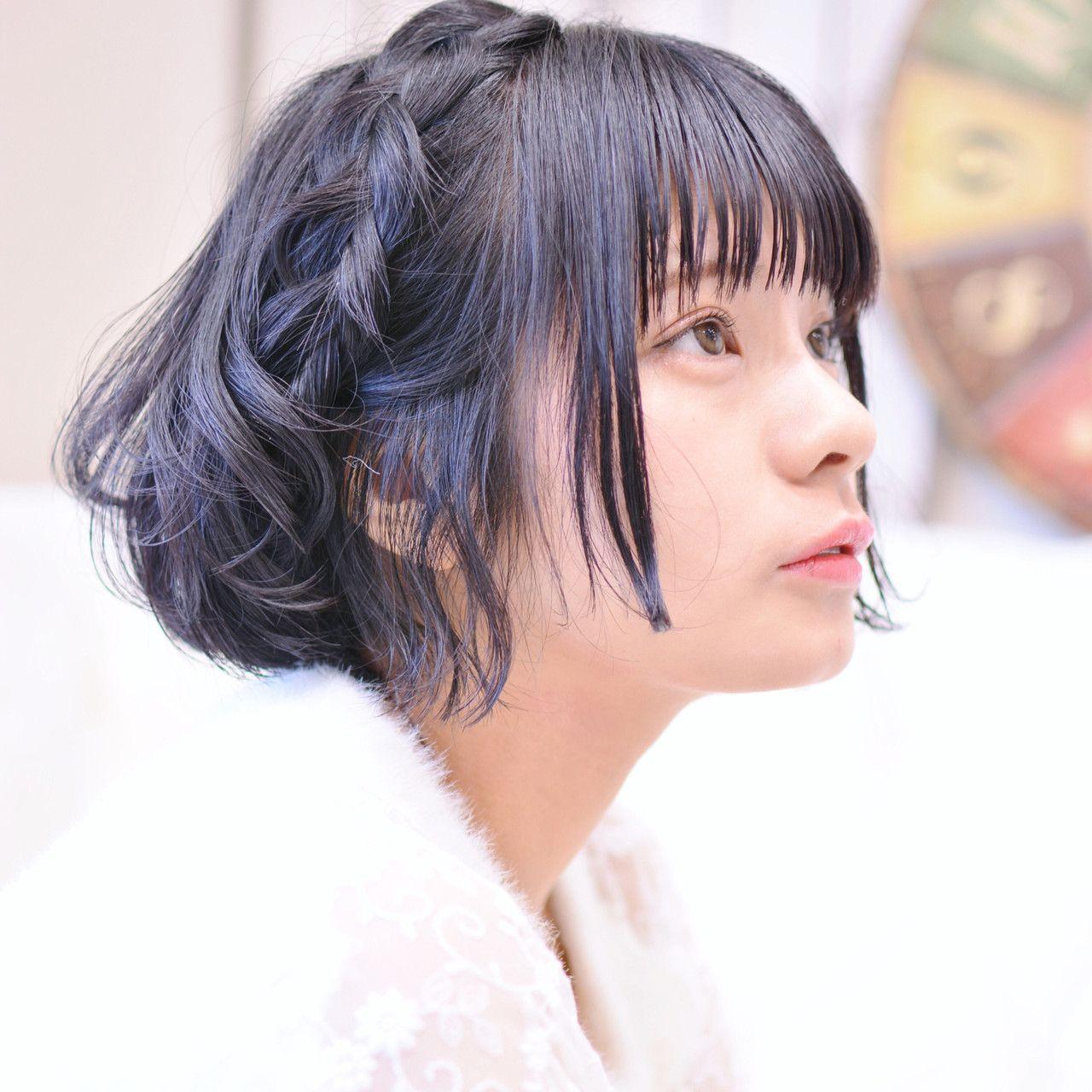 簡単ヘアアレンジ ヘアアレンジ 黒髪ショート 黒髪 メイズ Shiko