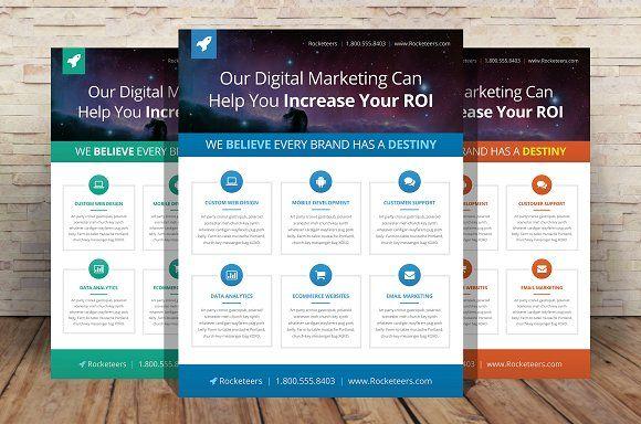 Designer Flyer Template | Pinterest | Flyer template, Template and ...