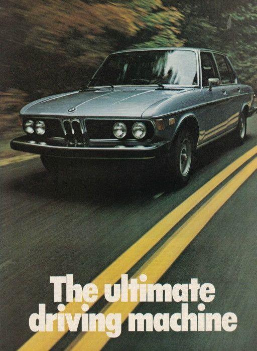 1975 BMW 3.0 Car Ad \