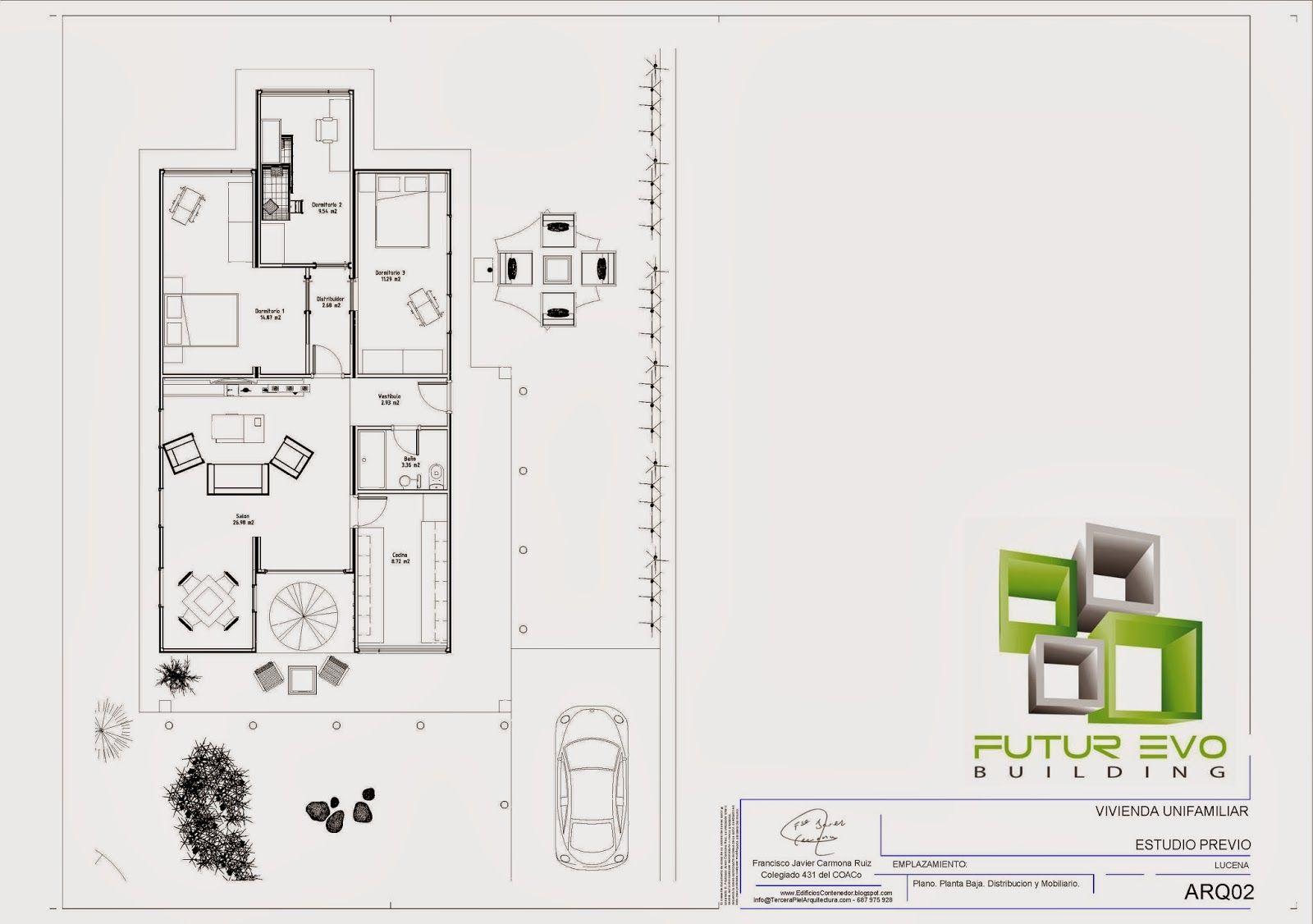 contenedore medidas - Buscar con Google | Planos Casas Contenedores ...