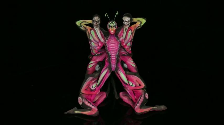 Rebecca Romijn Body Painting