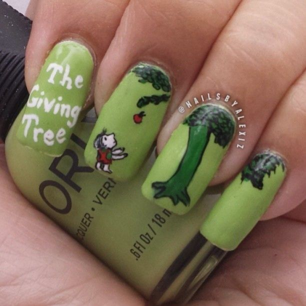 15 Works Of Nail Art Inspired By Your Favorite Children\'s Books ...
