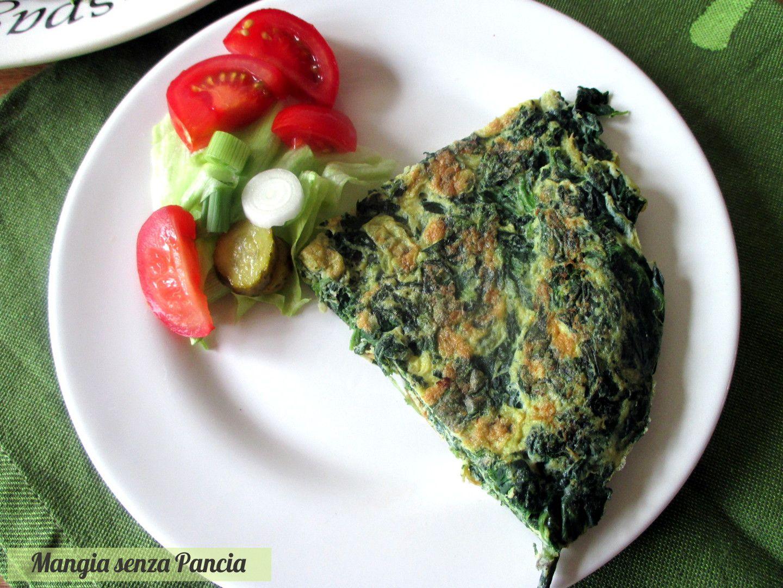 Frittata di spinaci leggera   Mangia senza Pancia