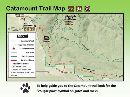This Rough Map Shows The New Catamount Trail A Mountain Biking