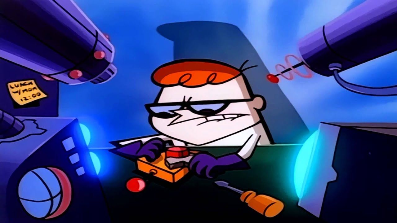 Dexter S Laboratory Intro Hd Dexter Cartoon Dexter Laboratory Cartoon Wallpaper