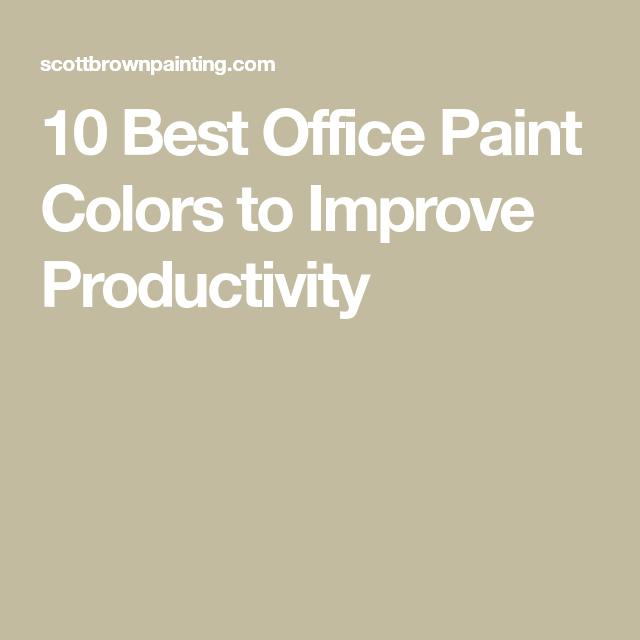 10 best office paint colors to improve productivity on best office colors for productivity id=78994