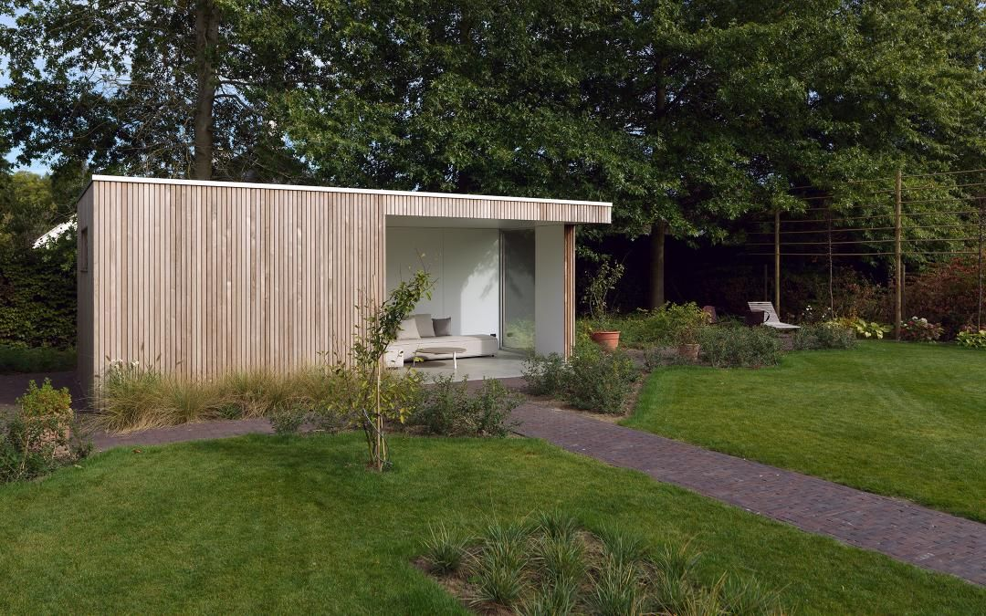 Livinlodge pure tielt: livinlodge houten bijgebouwen carports amp