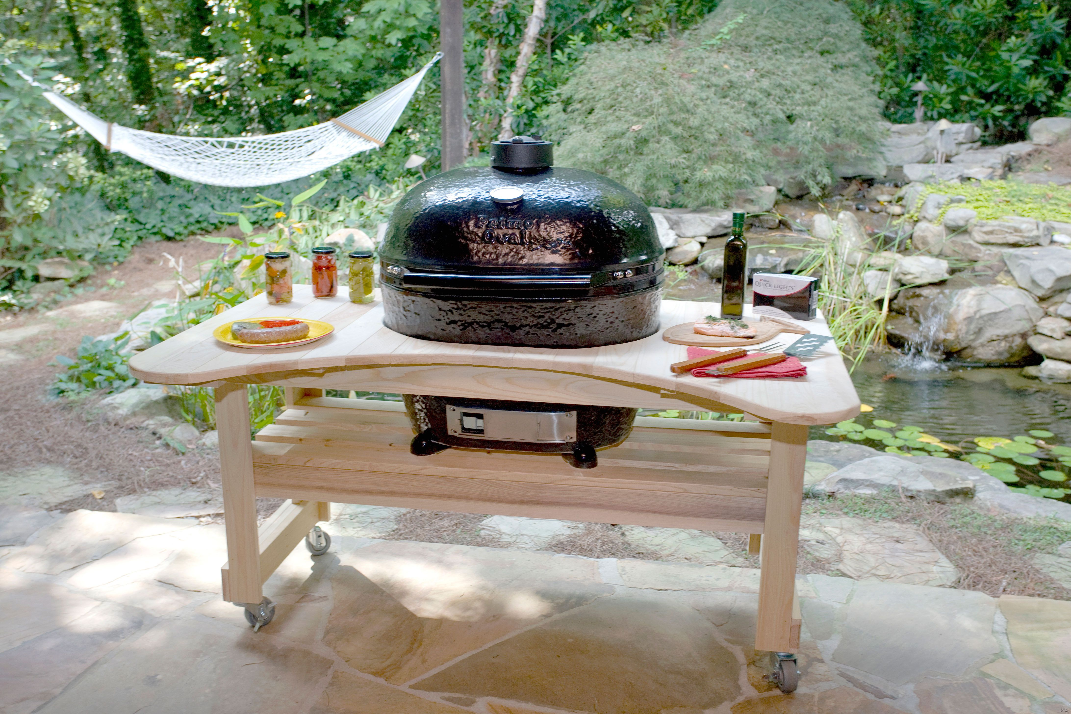 Primo 900 Primo 28 Quot Freestanding Ceramic Kamado Grill With