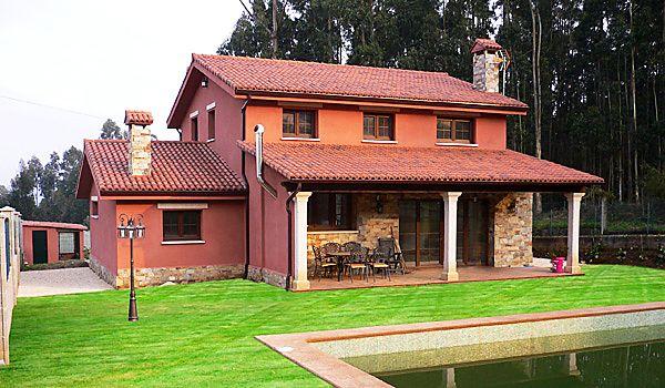 Dise os de casas rusticas de ladrillo casa dise o Diseno de casas rusticas
