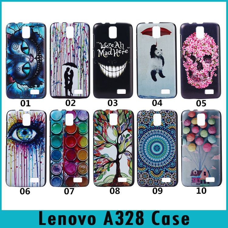 super popular 528fe 95972 Lenovo A328 Fashion Painting Style Colorful Printing Drawing Skin ...