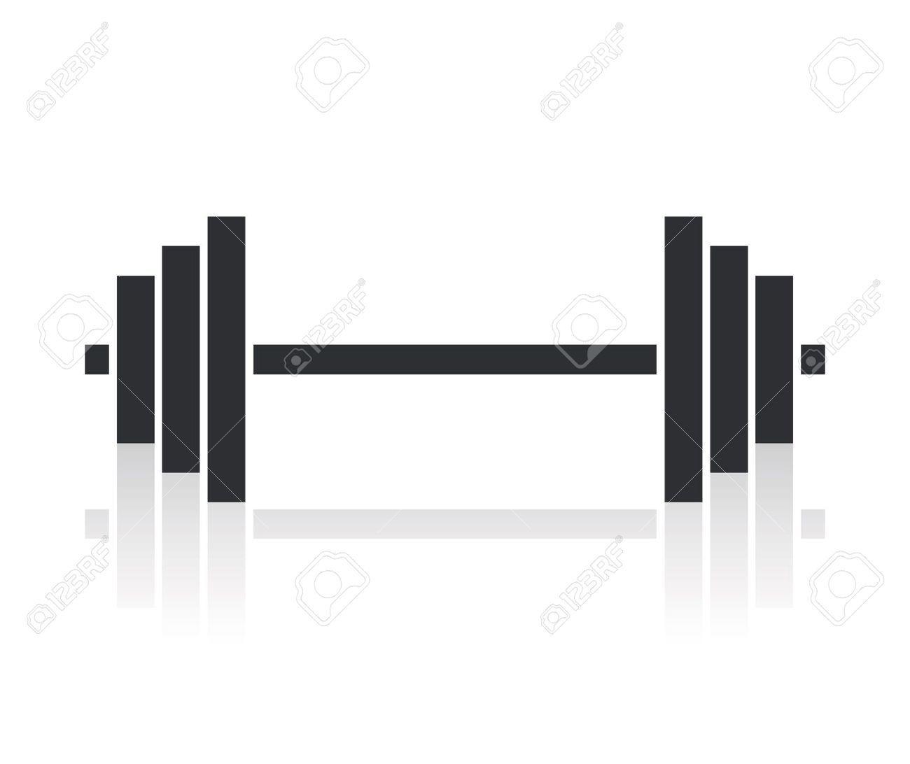 18661650dumbbellweightssymbolstockvectorbarbell