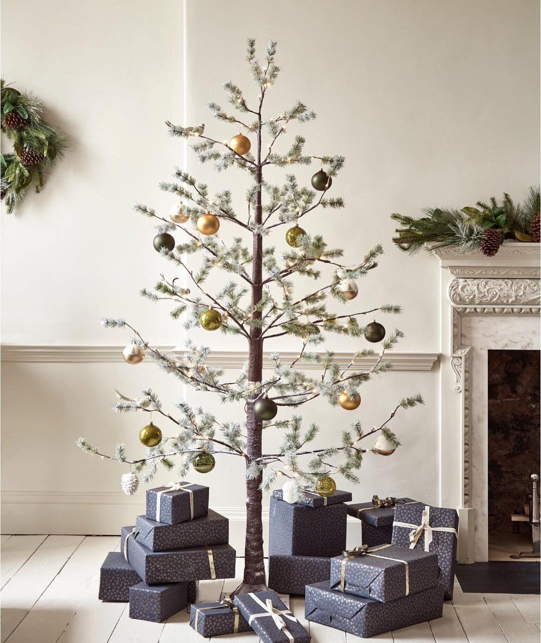 @coxandcox Frosted Pine Indoor Outdoor Light Up Tree ...