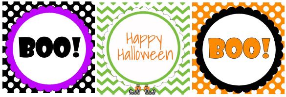FREE Printable Halloween Gift Tags! - OC DEAL MAMA