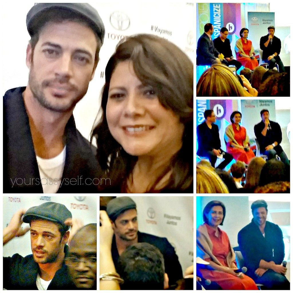 You Never Know Who You'll Meet at Hispanicize - like actor William Levy - YourSassySelf.com