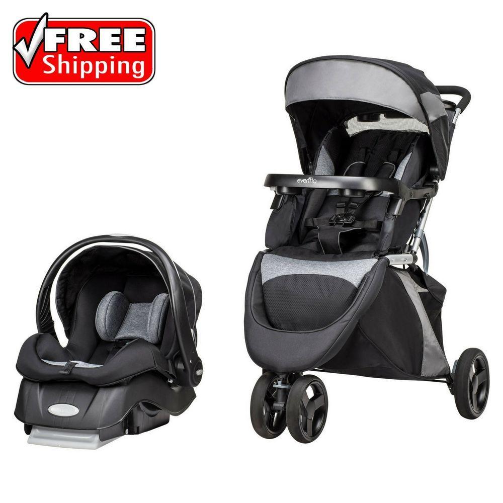 Evenflo Advanced SensorSafe Epic Baby Travel System Infant
