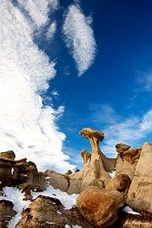Hoodoos (wind erosion)