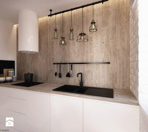 Apartament Wbw Industrial Style Kitchen Interior Design Interior Inspo