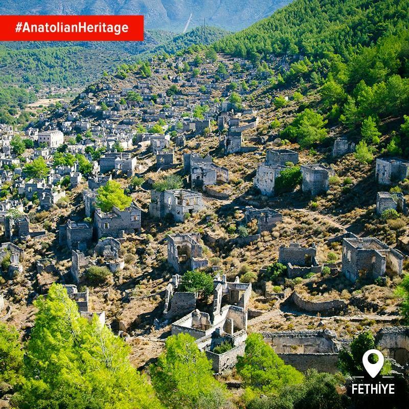 The Abandoned City Of Kayaköy Reflects All The Majesty Of