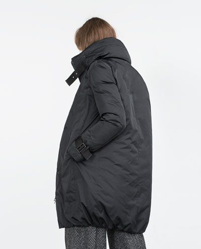 199 LONG DOWN JACKET from Zara   Winter is Coming in 2019   Jackets ... 9873bf072ff