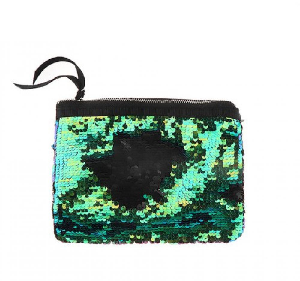 14cea602d6f6 Holographic Mermaid Sequins Cosmetic Bag Price   9.95   FREE Shipping  glam   stylish